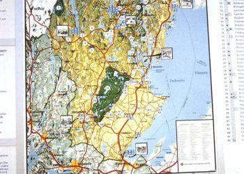 Karte-Kanutour-Dalsland